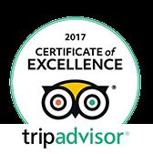 Tripadvisor - Certificate Excellence