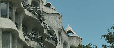 Barcelona Arquitecture of Gaudi
