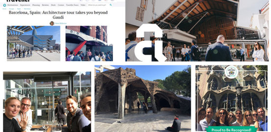 Barcelona Architecture Walks great news compilation 2018